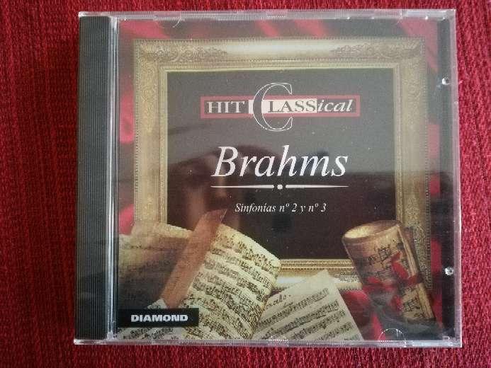Imagen Cd de música clásica de Brahms