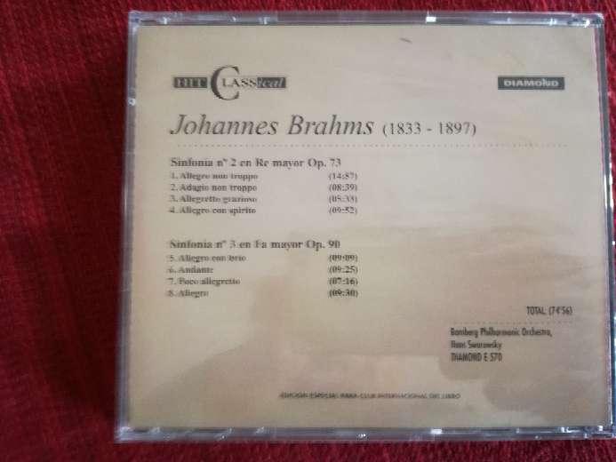 Imagen producto Cd de música clásica de Brahms 2