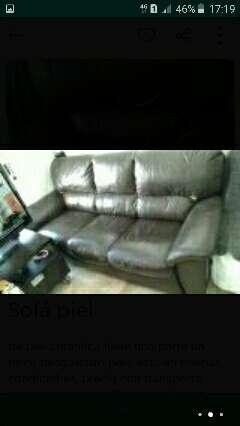 Imagen sofa piel