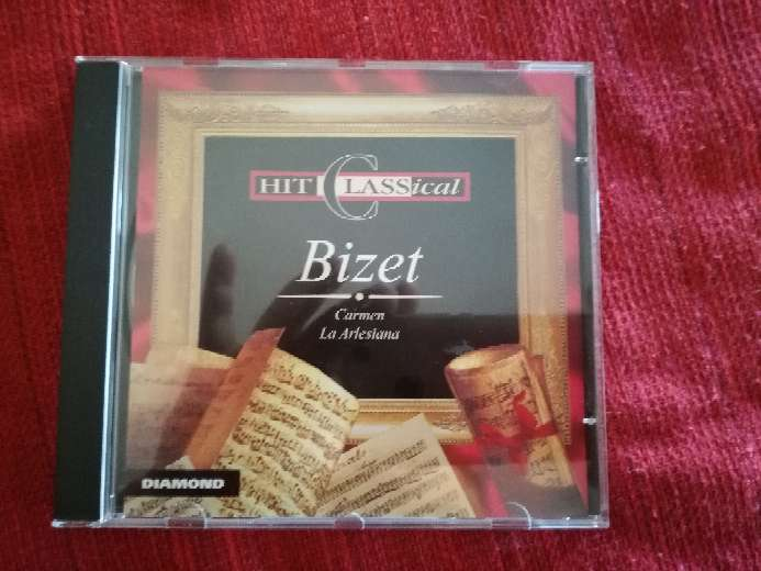 Imagen Cd de música clásica de Bizet