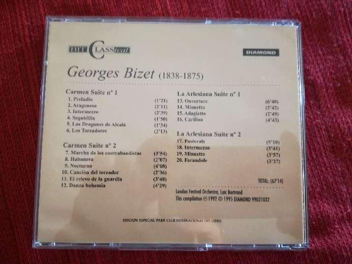 Imagen producto Cd de música clásica de Bizet 2