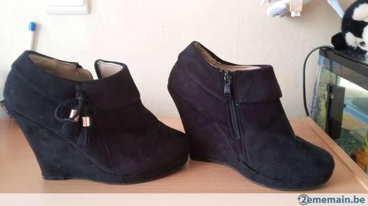 Imagen chaussures à talons compensées