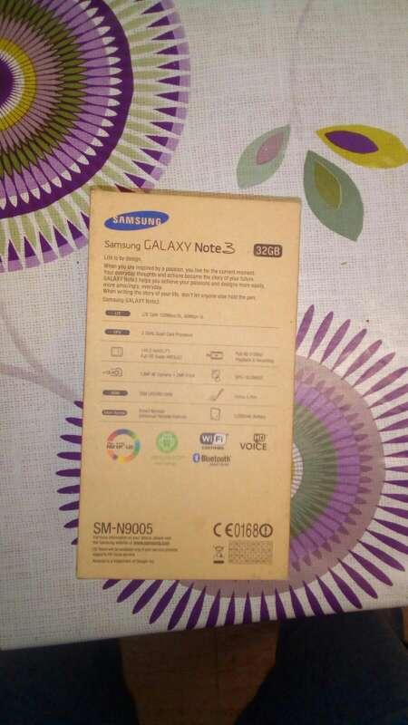 Imagen producto Sansung note 3  2