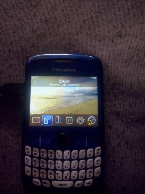 Imagen Blackberry curve 8520