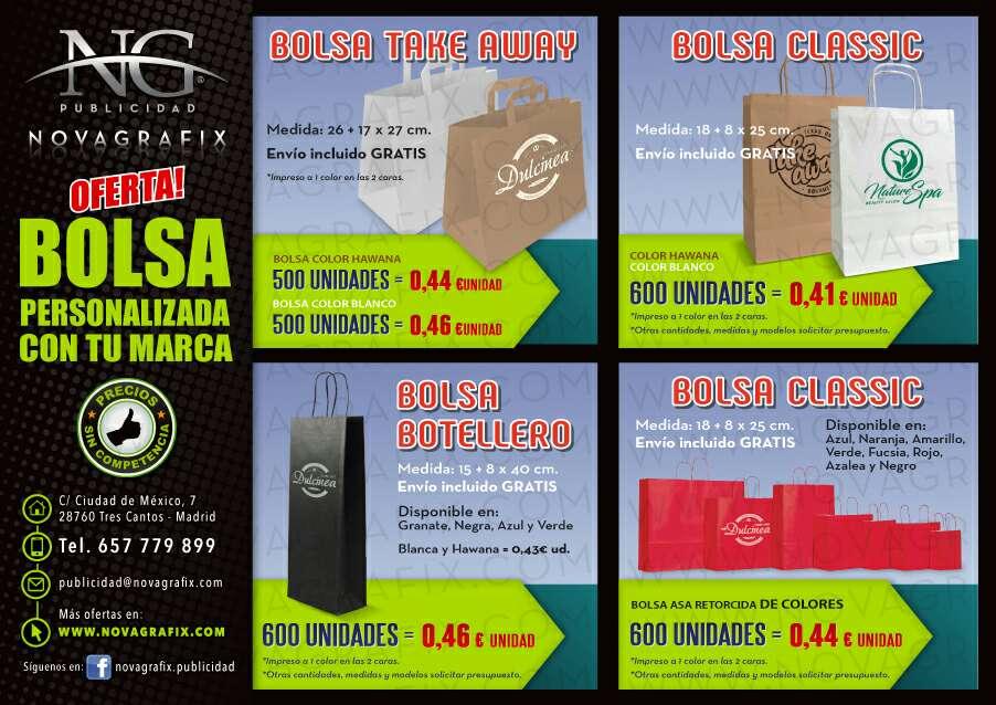 Imagen Bolsas personalizadas con tu marca