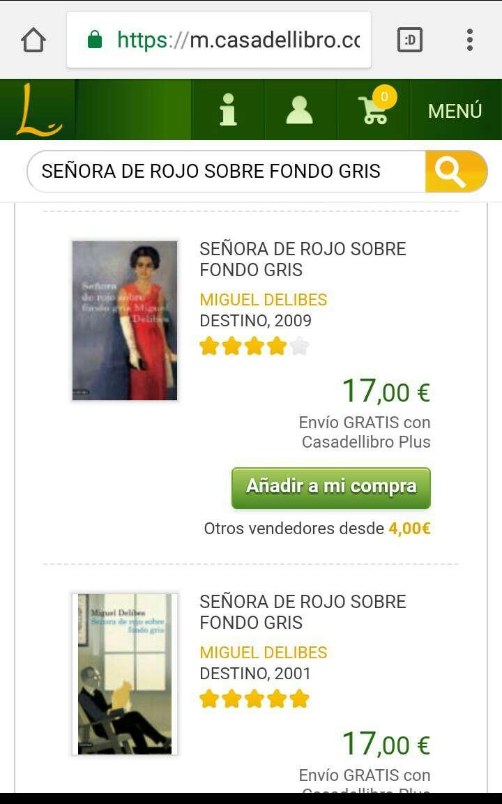Imagen producto Señora de Rojo Sobre Fondo Gris  3