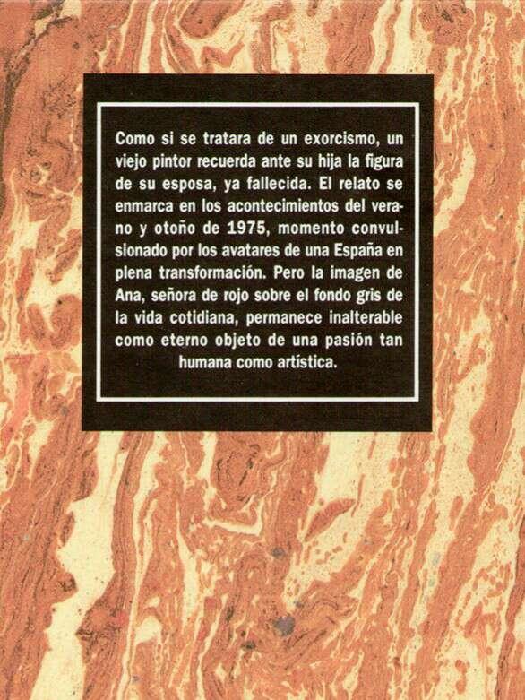 Imagen producto Señora de Rojo Sobre Fondo Gris  2