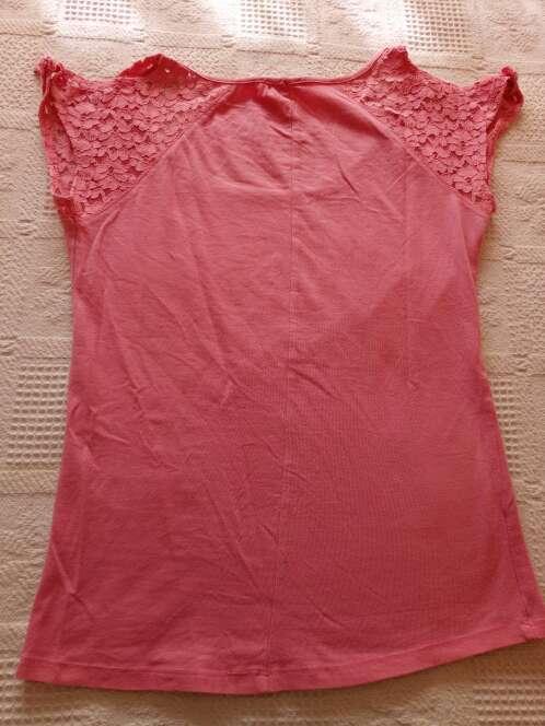 Imagen producto Camiseta rosa bershka 3