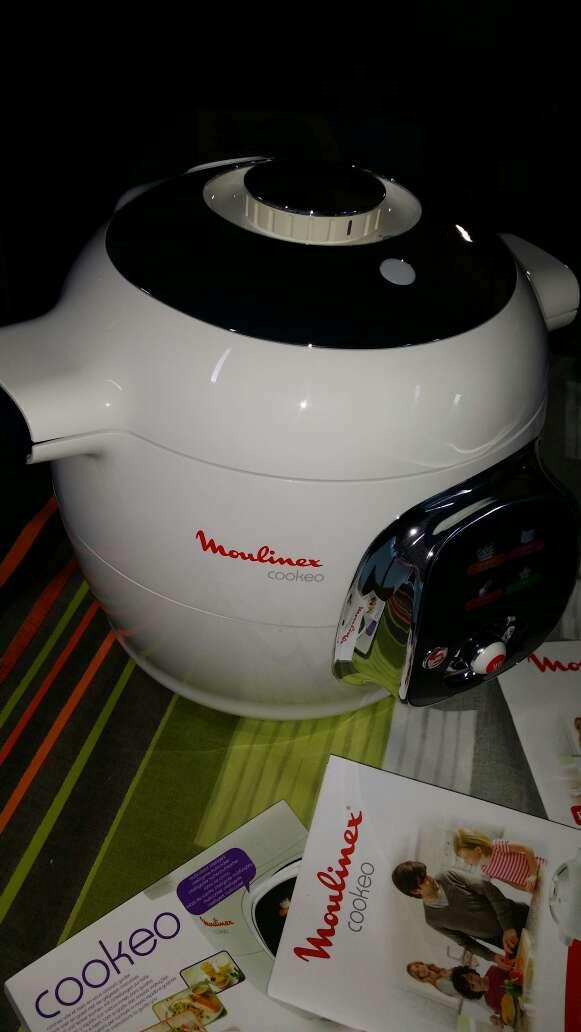 Imagen Robot de cocina moulinex cookeo