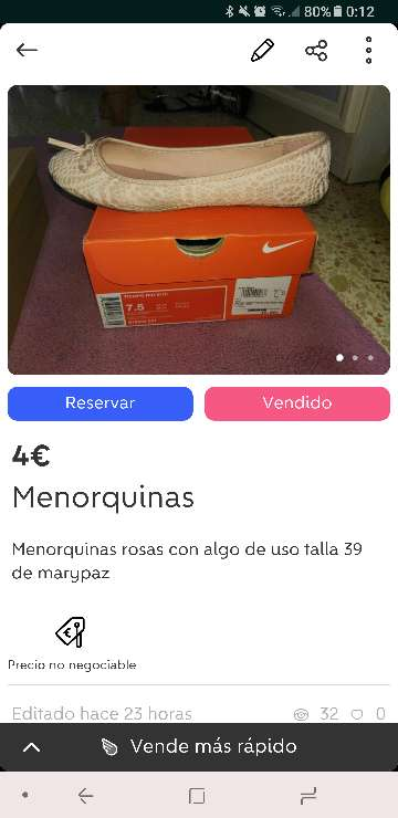 Imagen producto Calzado de chica (deportivas,menorquinas y tacon) 2
