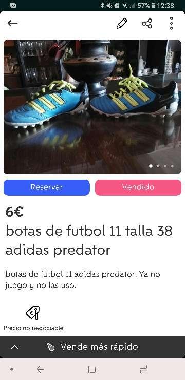 Imagen producto Botas de fútbol 11 2