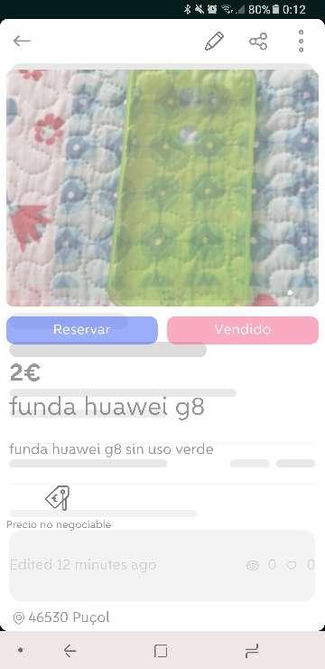 Imagen producto Fundas huawei g8 3
