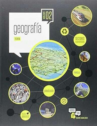 Imagen libro de geografía 2bach