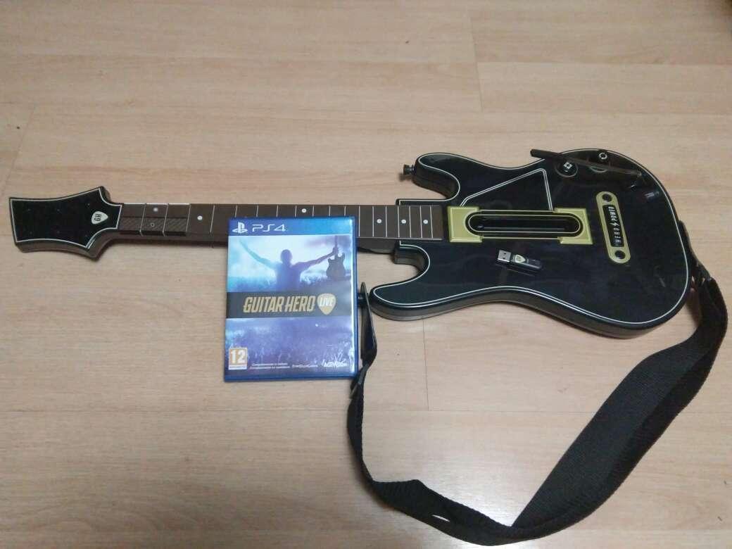 Imagen Guitar Hero Live PS4