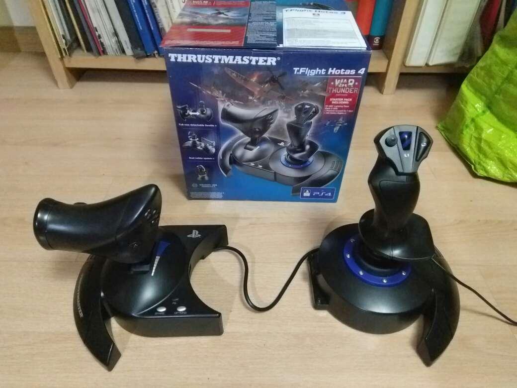Imagen Joystick HOTAS Thrusmaster PS4/PC