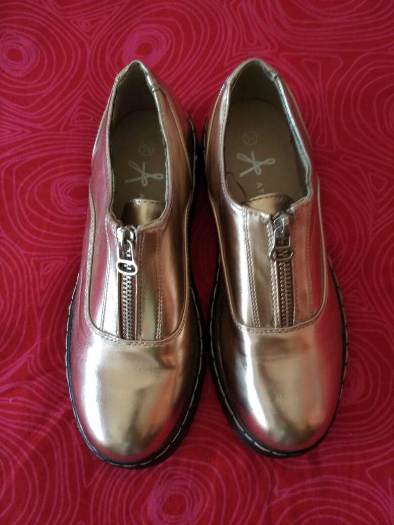 Imagen producto Zapatos dorados,atmosphere,36!! 2