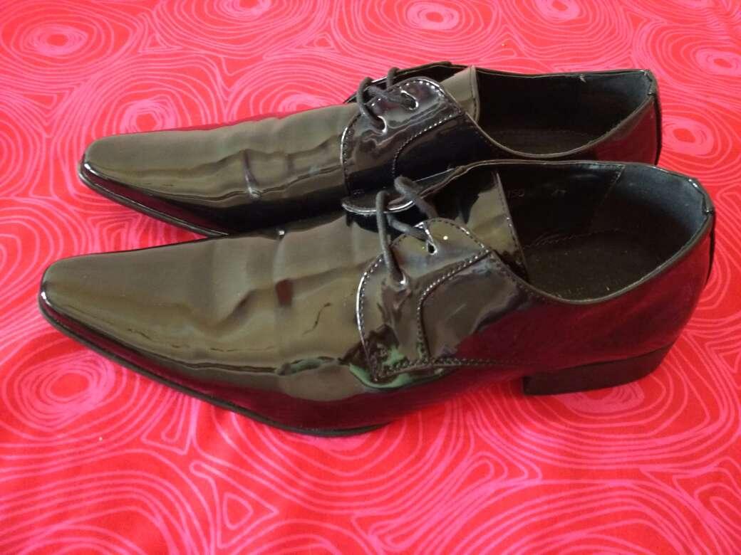Imagen producto Zapatos de charol,hombre,43!! 2