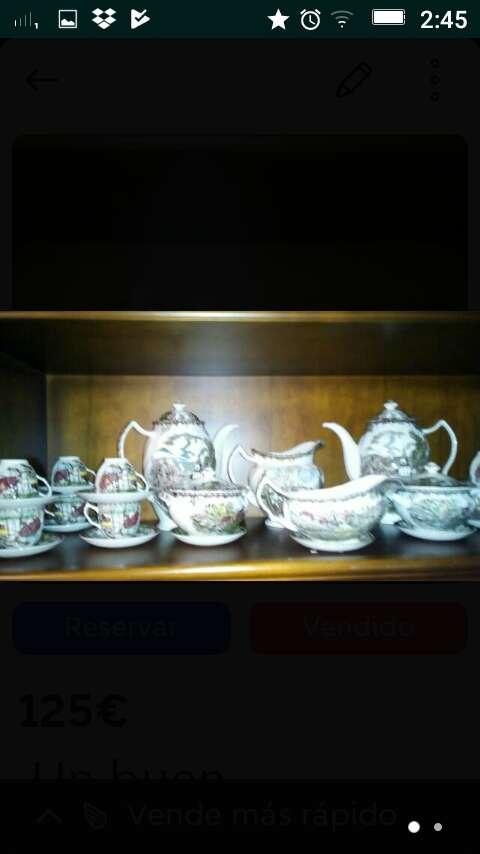 Imagen Oferta,Vajilla porcelana inglesa te y café 12 servicios