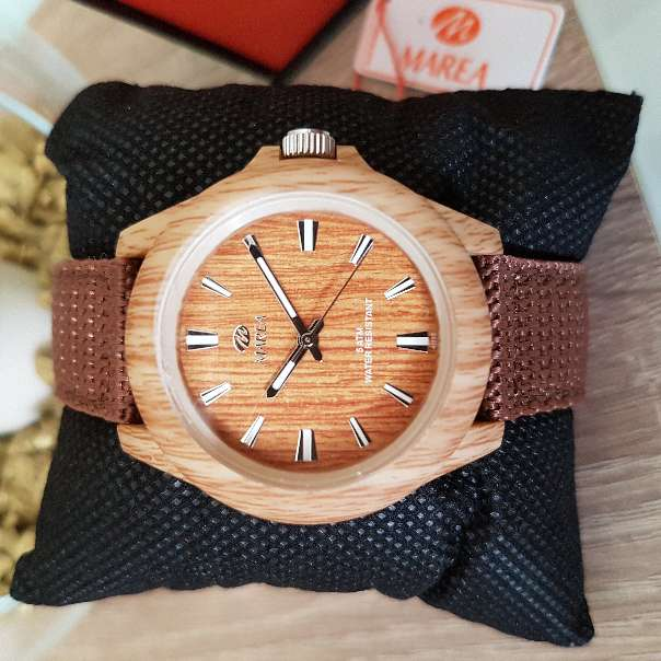 Imagen Reloj hombre o mujer (unisex) madera