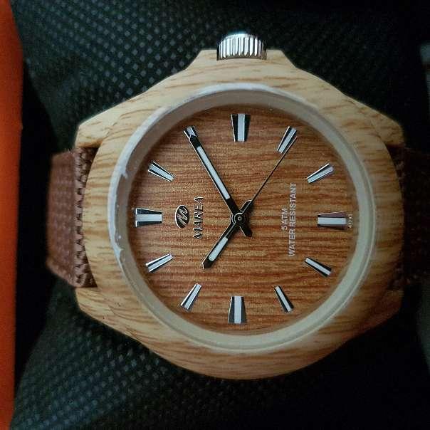 Imagen producto Reloj hombre o mujer (unisex) madera 4