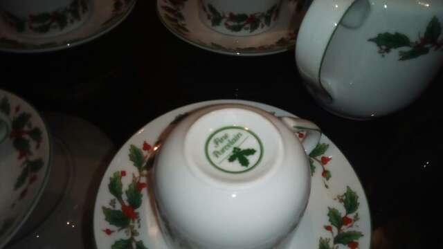 Imagen producto Juego café y te ,porcelana fina francesa 2