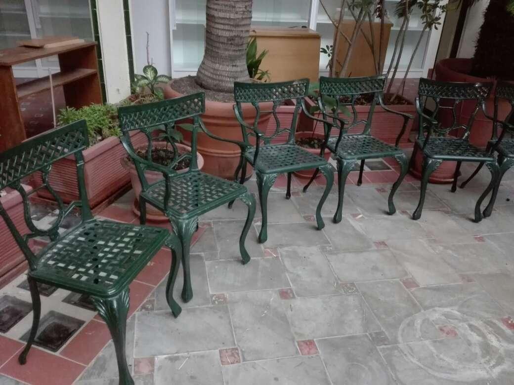 Imagen Sillas de metal para jardin