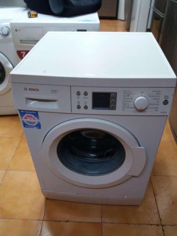 Imagen lavadora marca bosch 8kg pantalla digital 140€