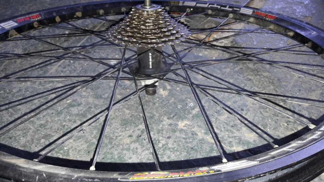 Imagen producto Bicicleta recambios 6