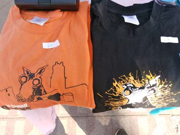 Imagen camisetas camell