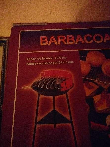 Imagen producto Barbacoa nueva  2