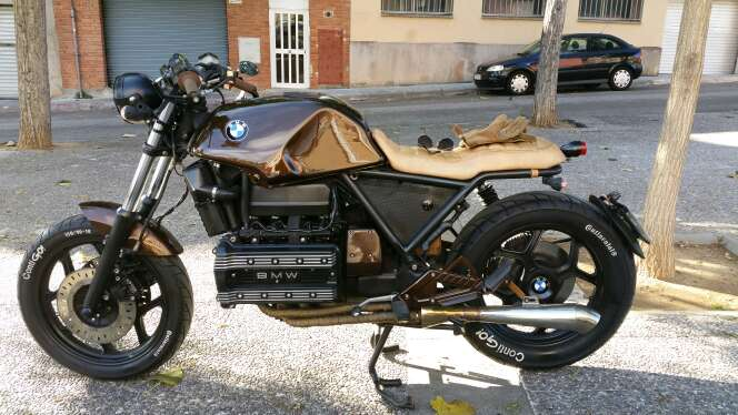 Imagen BMW K100 cafe racer