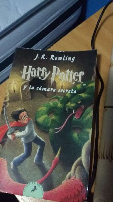 Imagen Libro de Harry Potter