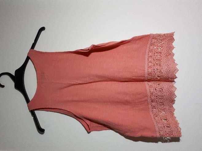 Imagen camisa de tirantes rosada