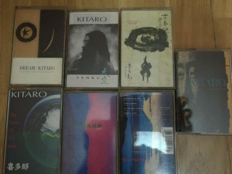Imagen cassettes KITARO