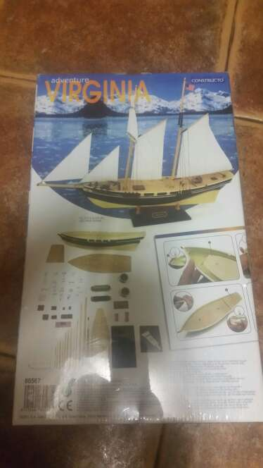 Imagen producto Maqueta barco 1