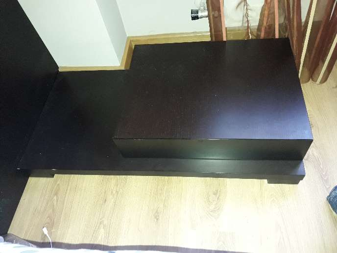 Imagen producto Mueble dormitorio matrimonio color wengue 3