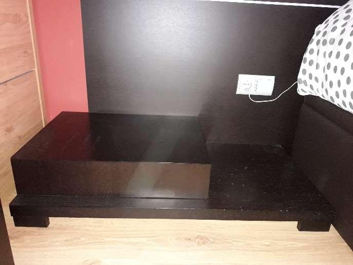 Imagen producto Mueble dormitorio matrimonio color wengue 2
