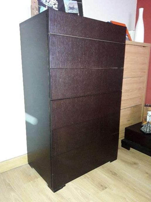 Imagen producto Mueble dormitorio matrimonio color wengue 4