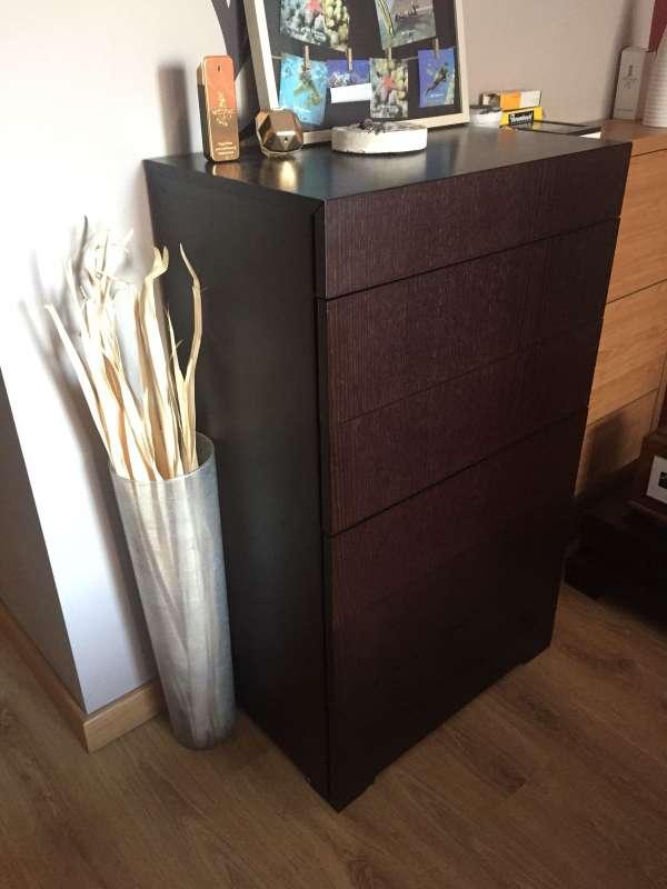 Imagen producto Mueble dormitorio matrimonio color wengue 5
