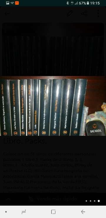 Imagen Coleccion libros.
