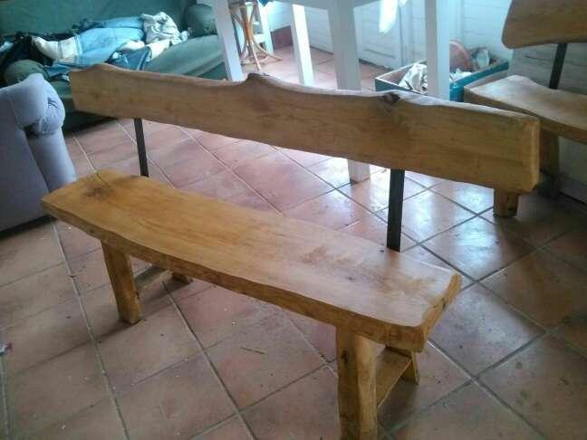 Imagen producto Banco de madera 2