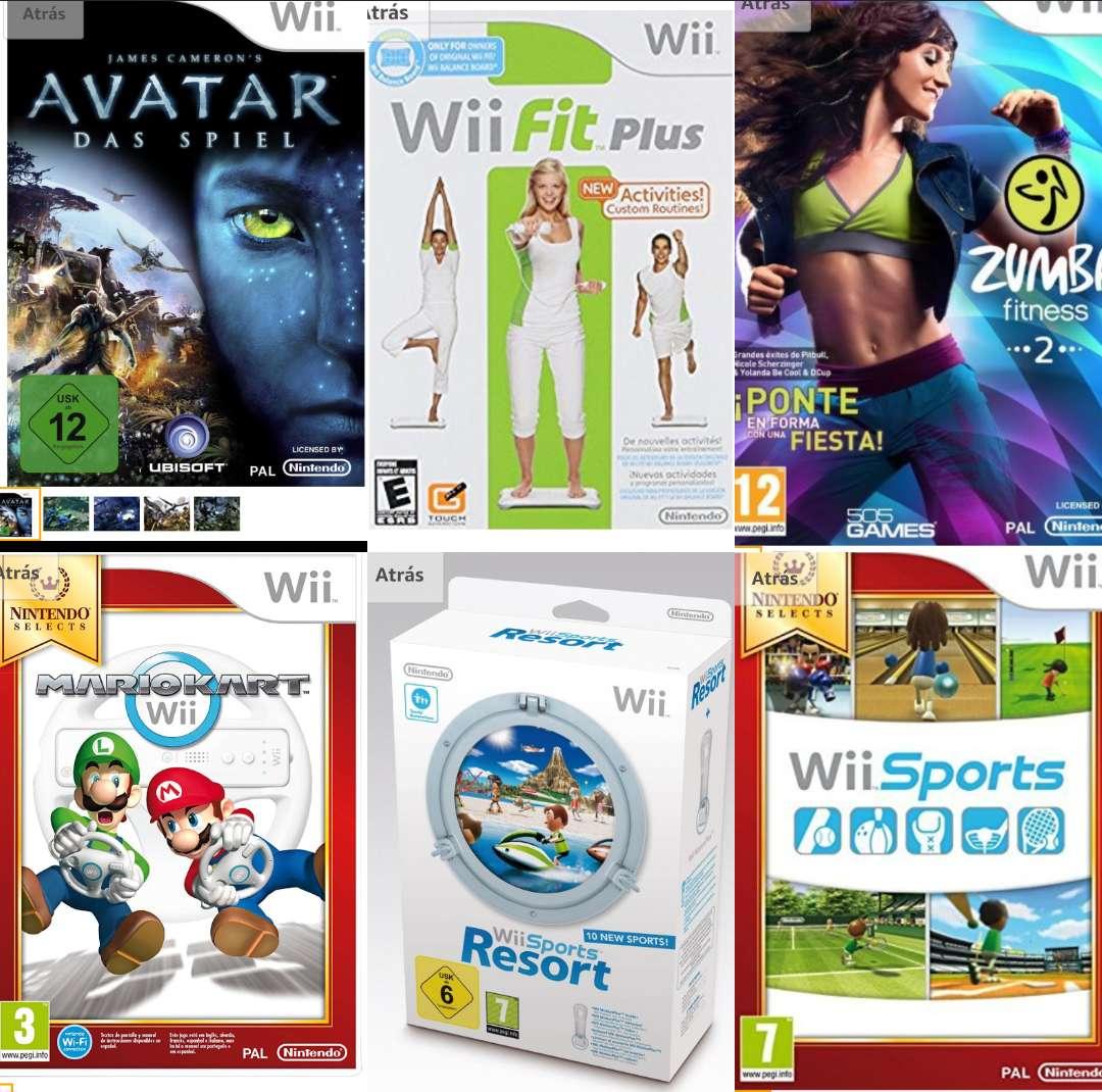 Imagen producto Wii Nintendo 5