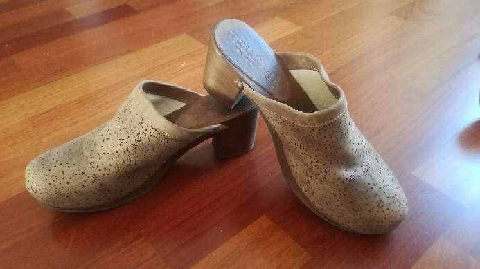 Imagen producto Zuecos, zapato mujer piel 3