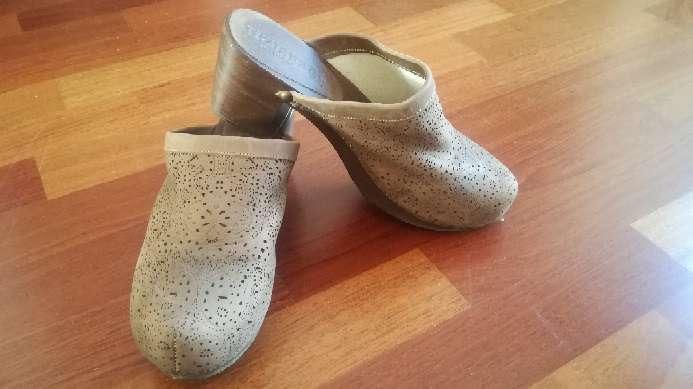 Imagen Zuecos, zapato mujer piel