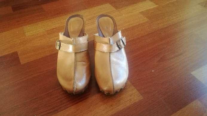 Imagen producto Zuecos, zapato mujer piel 4