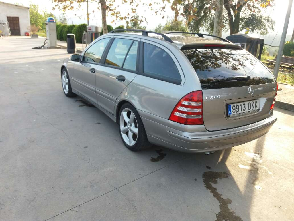 Imagen producto Mercedes C 220  3