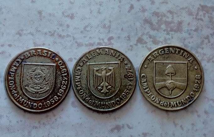 Imagen monedas del mundial España
