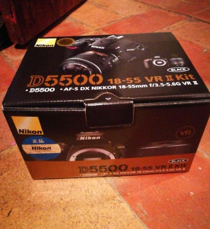 Imagen Cámara réflex Nikon d5500