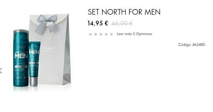 Imagen set north for men