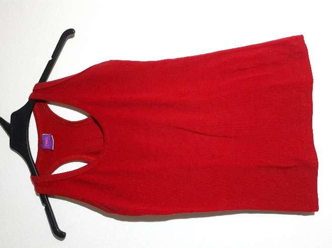 Imagen Camiseta de tirantes roja